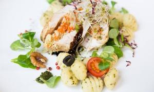 Meet and Eat Pegaz: Lunche, śniadania, obiady: 19,99 zł za groupon wart 30 zł i więcej opcji w Meet and Eat Pegaz (do -33%)