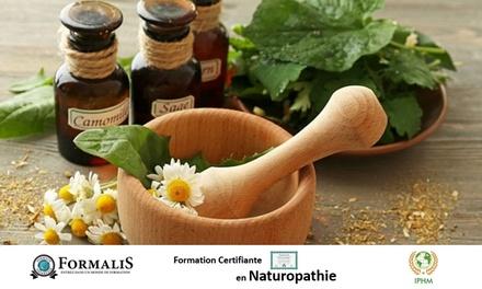 Formation en naturopathie à 69 € avec Formalis (88% de réduction)