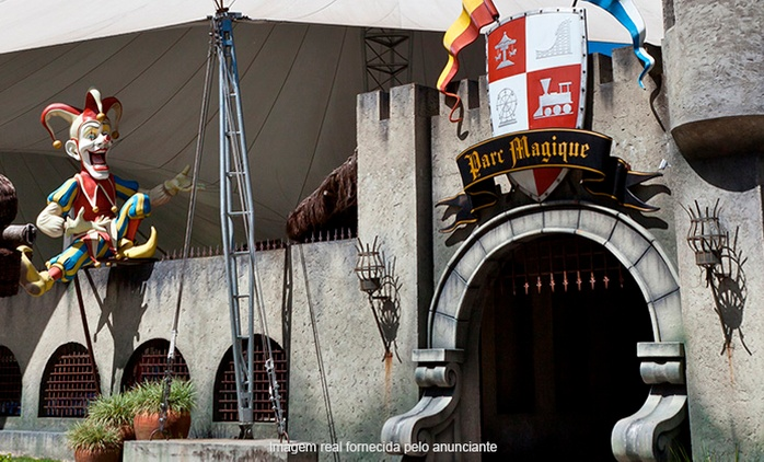 Teresópolis/RJ: até 4 ingressos para Parc Magique