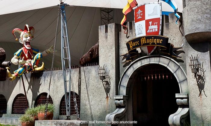 Parc Magique - Teresópolis: Teresópolis/RJ: até 4 ingressos para Parc Magique