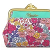Ditsy Floral Triple-Frame Coin Purse