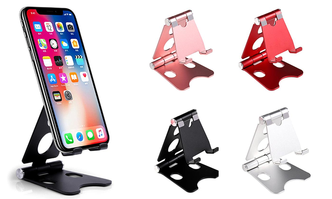Portable Metal Folding Phone and Tablet Stand