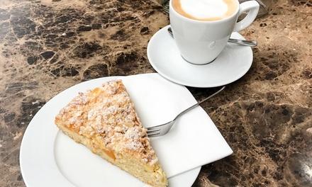 Kuchen und Heißgetränk nach Wahl für 2 oder 4 Personen im Sperling Restaurant GmbH and Co KG (bis zu 44% sparen*)