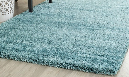 Fashion Thick NonShedding Shaggy Rug in Choice of Size and Colour