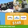 Multi-Park Pass - 2 or 7 Days