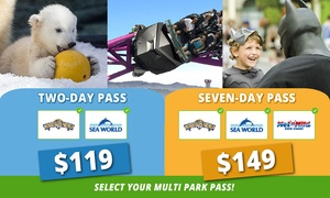 Village Roadshow Theme Parks: Village Roadshow Theme Parks: 2-Day 2 Parks Pass ($119) or 7-Day 3 Parks Pass ($149) (Up to $159 Value)