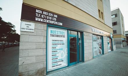 1, 3 o 6 sesiones de depilación láser Milesman unisex en zona a elegir o cuerpo entero desde 12 € en Centro Pepa