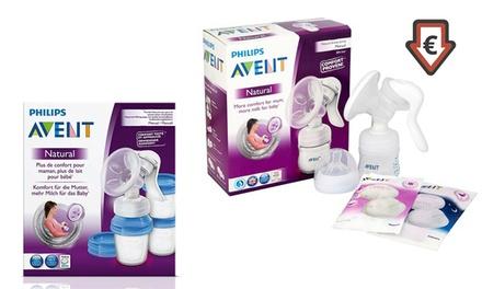 Philips Avent Komfort-Handmilchpumpe mit Massagekissen