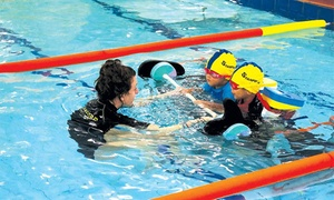 Stanford Swim School: Two ($30) or Four Weeks of Swim Lessons for Child ($52) at Stanford Swim School (Up to $126 Value)