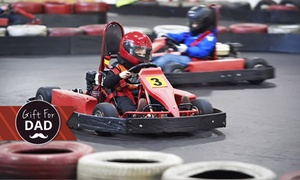 234 Fun Galore: 20- ($23) or 30-Minute Indoor Karting ($29) at 234 Fun Galore (Up to $58 Value)