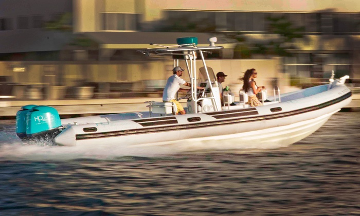 H2O Watersports - Fort Lauderdale: 2-Hour Eco Ocean Boat Tour for Two or Six People from H2O Watersports (Up to 50% Off)
