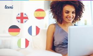 Lerni Sp. z o.o.: Engels, Spaans, Duits, Italiaans of Franse leren bij Lerni vanaf € 9