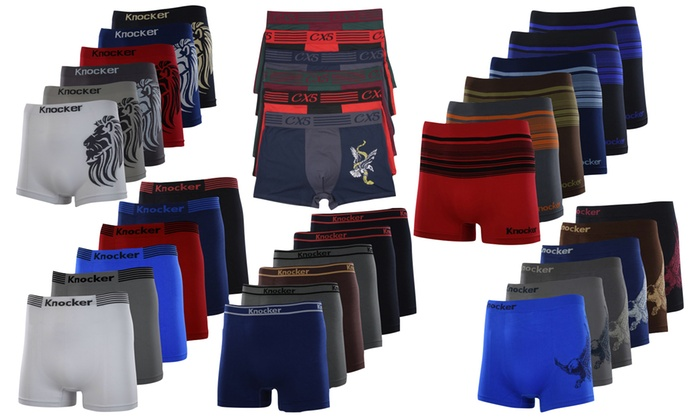 Men's Boxer Briefs Mystery Deal (6-Pack)