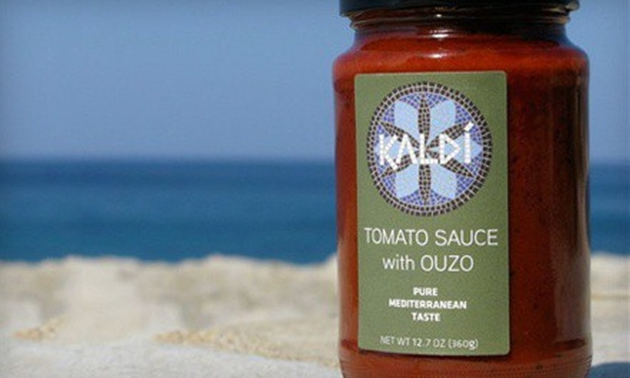 Kaldi: $25 for $50 Worth of Greek Olive Oil and Sauces from Kaldí