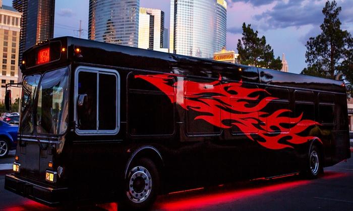 Club Tour Vegas - The Strip: Vegas Nightclub Crawl for One, Two, or Four from Club Tour Vegas (Up to 65% Off)