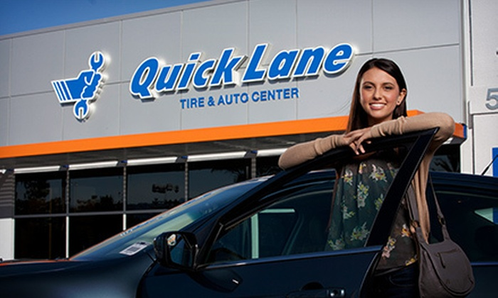 Quicklane at Elk Grove Ford - Elk Grove: $29 for Two Synthetic Blend Oil Changes at Quicklane at Elk Grove Ford ($69.90 Value)