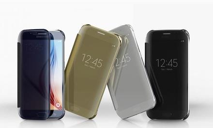1 o 2 fundas de espejo para Samsung Galaxy S6, S7 y  S7 Edge desde 9,99 € (hasta 68% de descuento)
