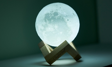 Touch Control LED 3D or Colour Changing Moon Lamp