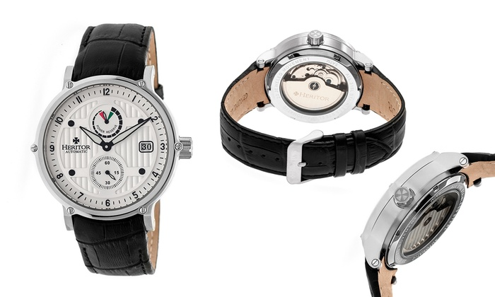 Heritor Automatic Mens Watches Leopold 2