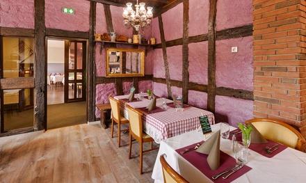 Menu traditionnelle en 2 ou 3 services pour 2 personnes dès 24,90 € au restaurant Le Falkenstein