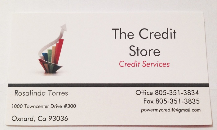 The Credit Store - Multiple Locations: Financial Consulting Services at The Credit Store (39% Off)