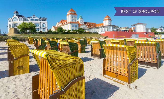 Rügen: 3-8 Tage zu zweit in der Suite mit HP im Strandhaus Belvedere