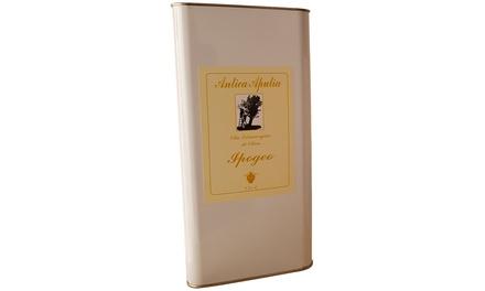 Olio evo Antica Apulia disponibile in confezione da 3 L e 5 L