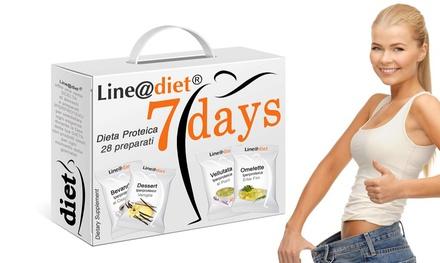 Line@Diet Régime Hyperprotéïné 7 jours 28 repas