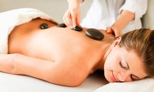 Morgana Spa y Estetica: 1 o 2 masajes relajantes y descontracturantes con piedras calientes o reflexología en Morgana Spa y Estética