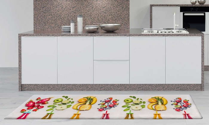 Tappeti cucina con stampa digitale | Groupon Goods