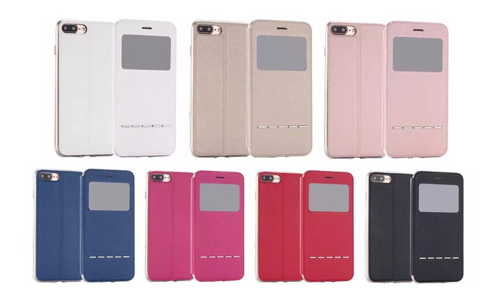 Groupon Goods Global GmbH: Flip-Case mit Swipe-Funktion für das iPhone im Modell und der Farbe nach Wahl (77% sparen*)