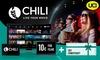 10 € CHILI Guthaben + 1 UCI Ticket