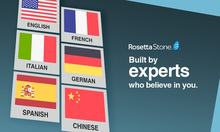 Language Course Subscription: Three $49 or Six Months $79 from Rosetta Stone