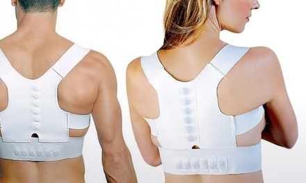 One or Two Support and Straightening Magnetic Back Posture Correctors