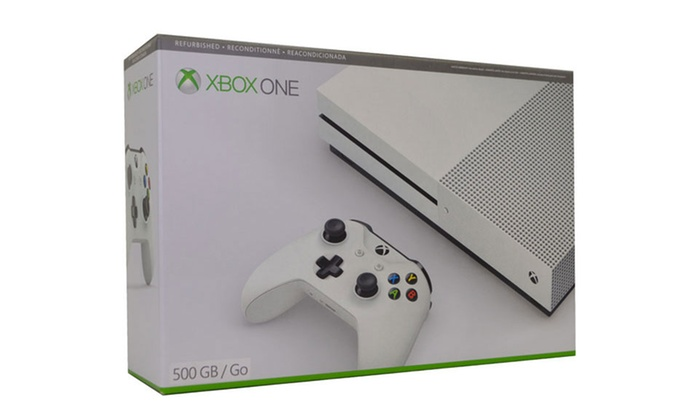 Xbox One S 500GB Console (Manufacturer Refurbished)