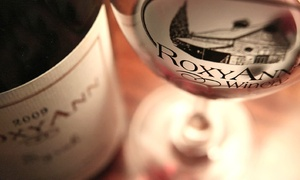 RoxyAnn Winery: Wine Tasting with Optional Souvenir Glasses for Two, or Wine Tasting for Four at RoxyAnn Winery (Up to 54% Off)