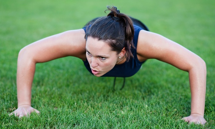 Drop Zone Extreme Fitness - Jessup: 6 or 12 Boot Camp Classes at Drop Zone Extreme Fitness (Up to 73% Off)