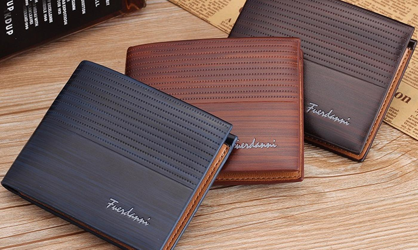 One, Two or Three Fuerdanni Men's Wallets