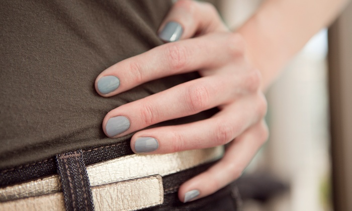 Star Nails - Overland Park - Glenwood Place: Shellac Manicure or Deluxe Shellac Manicure with Hand Scrub and Paraffin Wax at Star Nails (Up to 46% Off)