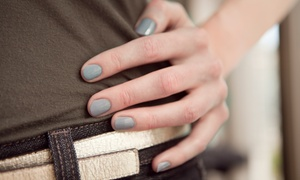 Shellac Manicure Or Deluxe Shellac Manicure With Hand Scrub And Paraffin Wax At Star Nails (up To 46% Off)