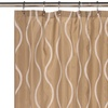 Geneva 14-Piece Shower-Curtain Set with Liner and Hooks