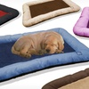 Paw-Embroidery Crate Pad