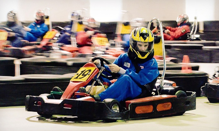 Maine Indoor Karting - Scarborough: $15 for $30 Worth of Indoor Go-Kart Racing, Mini Golf, and Café Food at Maine Indoor Karting