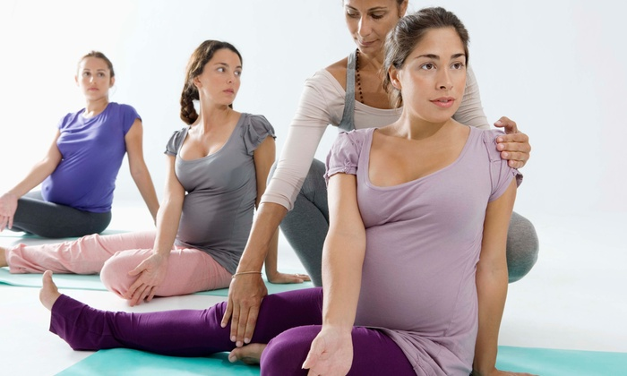 The Village Maternity Services - Glenvar Heights: 5 or 10 Prenatal Yoga Classes at The Village Maternity Services (Up to 84% Off)