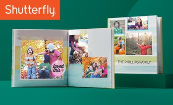 Up to 88% Off Photo Book from Shutterfly