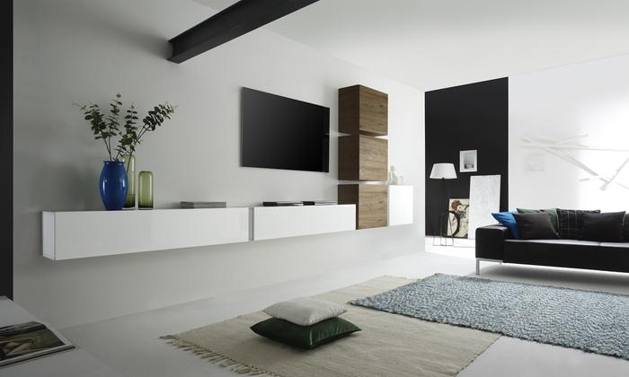 Parete pensile per soggiorno | Groupon Goods