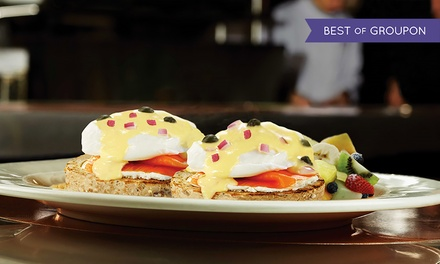 $16 for $30 Worth of Burgers, Crepes, Pasta, and American Cuisine for Dinner after 3PM at Eggspectation