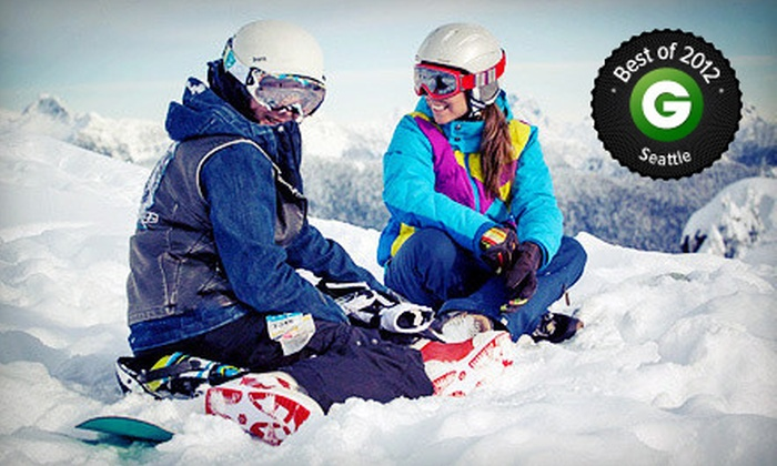 Mt. Seymour Resorts - North Vancouver: Adult Lift Ticket with Optional Ski or Snowboard Rental at Mt. Seymour Resorts (Up to 42% Off)
