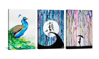 Art deals coupons groupon shop groupon marc allante art on gallery wrapped canvas gumiabroncs Choice Image