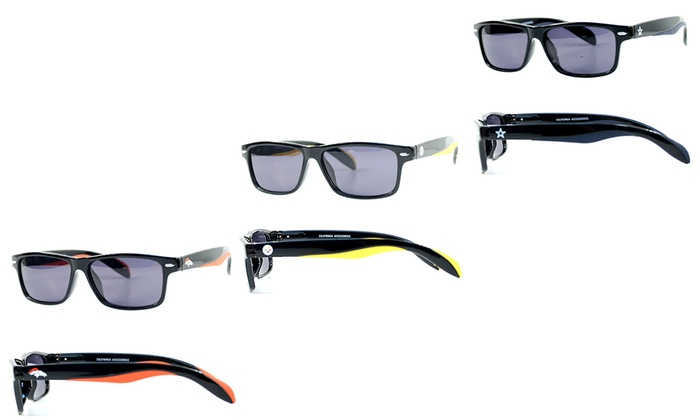 NFL Polarized Retro-Shaped Sunglasses